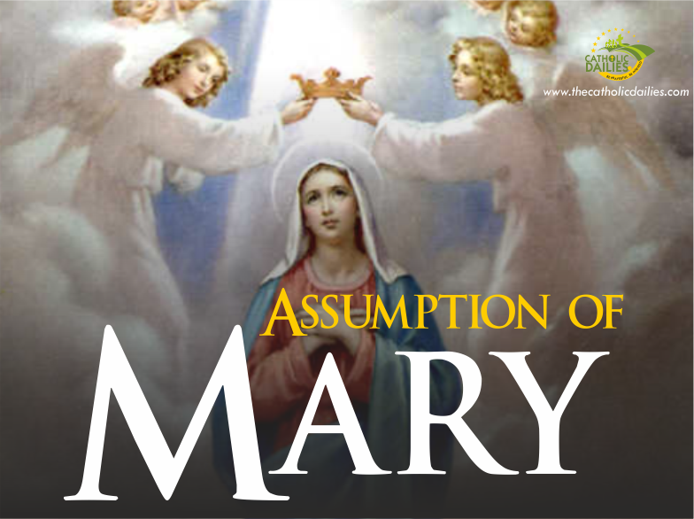 Assumption of Mary – Holy Day of Obligation Mass Times
